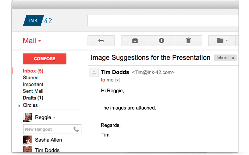 Gmail Solution - Damson Cloud