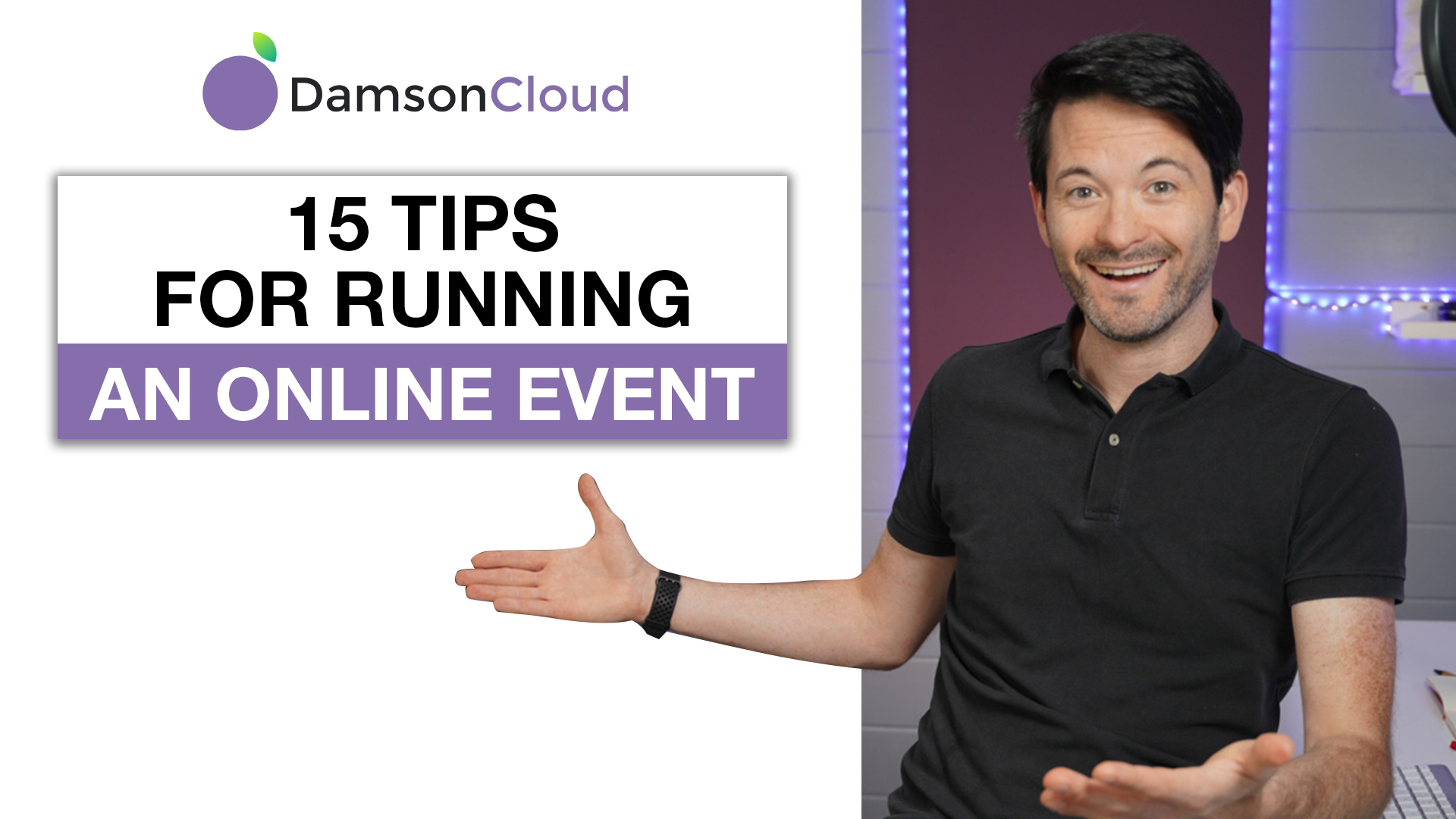 15 Things I learned Running an Online Event