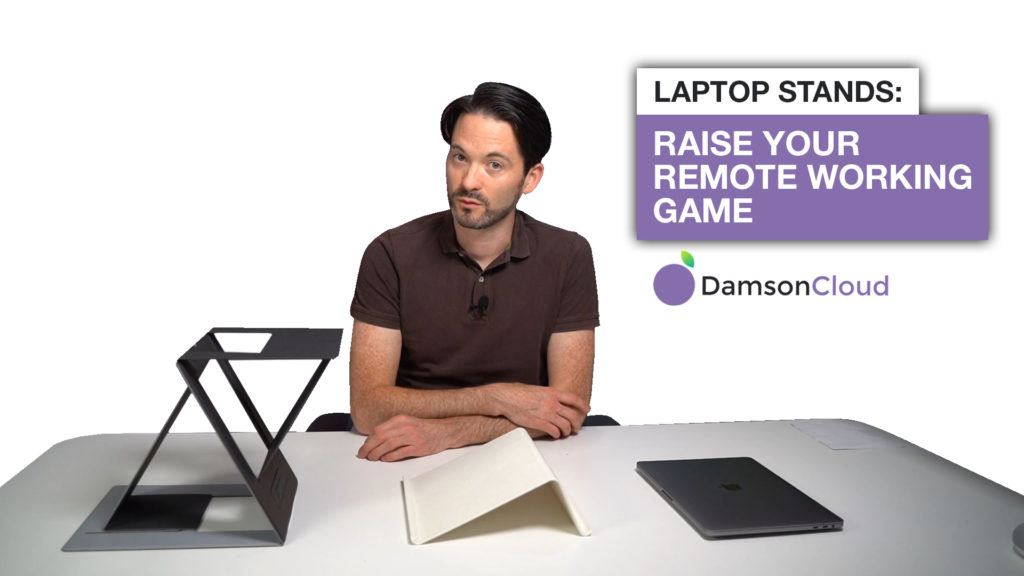 laptop stands remote working