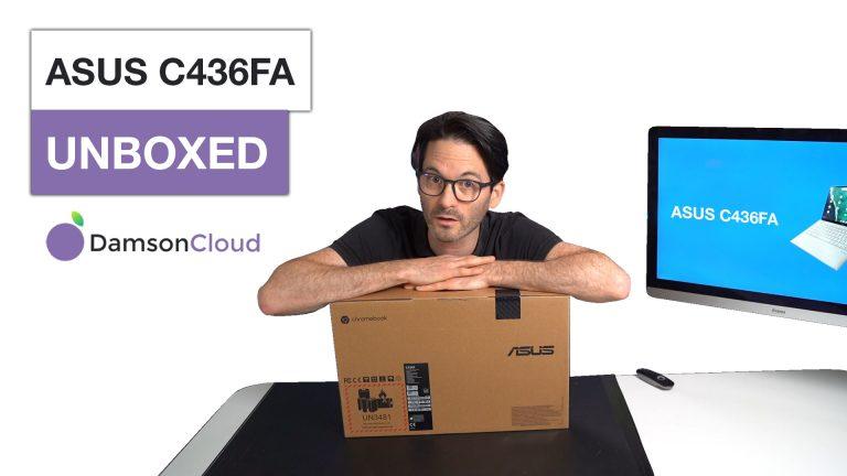 ASUS C436FA unboxed