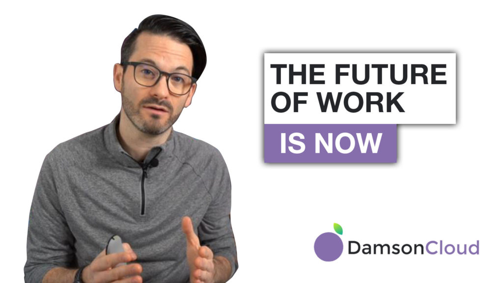 digital transformation future work is now