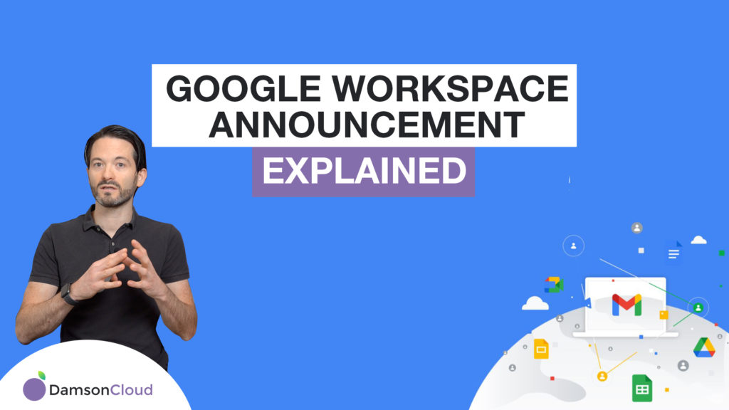 google workspace announcement