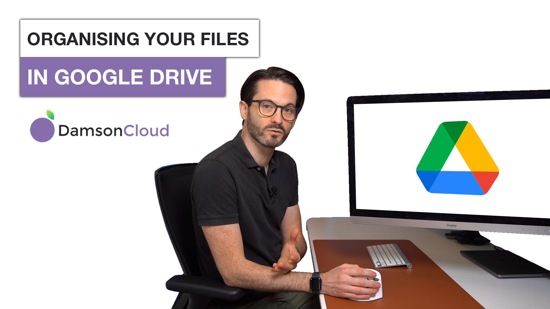Fintan Murphy from Damson Cloud shows us the most efficient ways to organise your folders within Google Drive.