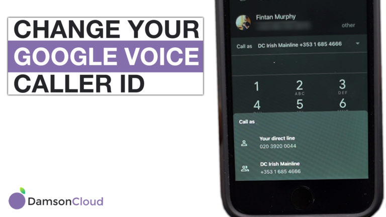 google voice call id update