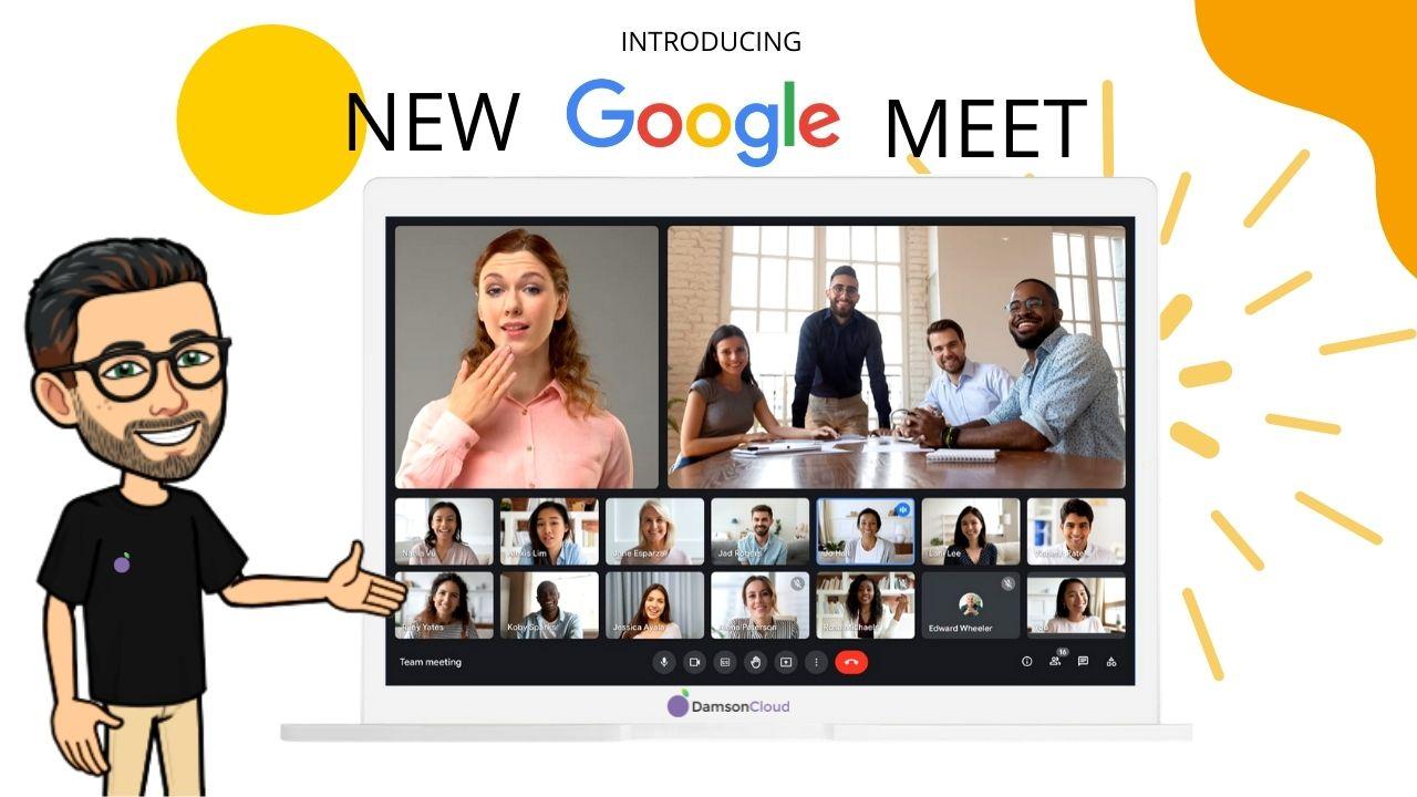 new google meet interface featured image