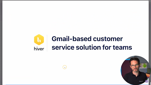 hiver for gmail screen share