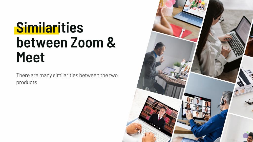 similarities between zoom and google meet