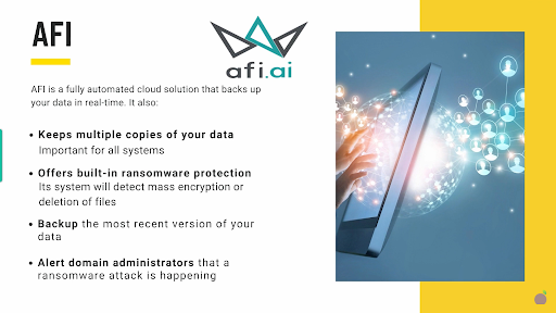 ransomware AFI solution
